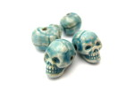 Raku Skull Beads, HempCraft -website