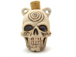 Skull Bottle Pendant HempCraft