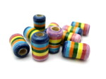 clay rainbow beads HempCraft -website
