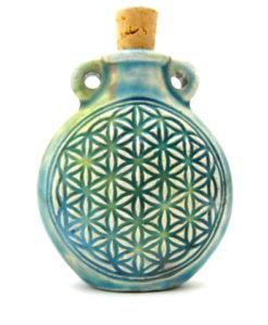 Flower of Life Ceramic Pendant