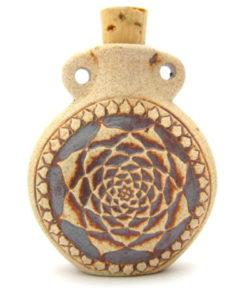 Lotus Flower Bottle Pendant