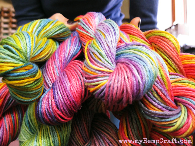 hand dyed hemp yarn for sale HempCraft (2)
