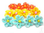 polymer clay flower beads HempCraft
