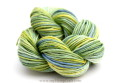 Hand dyed hemp yarn marina