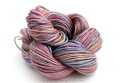 Hand Painted Hemp Yarn Purple