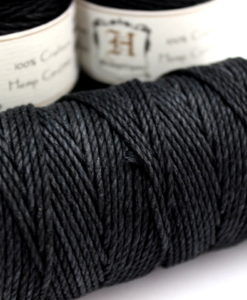 2mm Thick Black Hemp Cord Hemp Craft