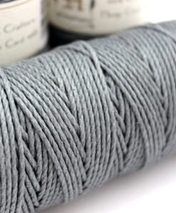 2mm Thick Gray Hemp Cord Hemp Craft