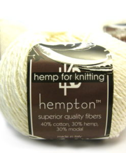 white hemp yarn