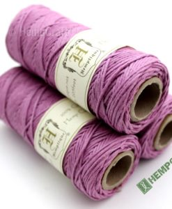 Dyed Hemp Cord, Colored Hemp Twine, HempCraft (18)