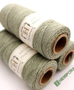 Dyed Hemp Cord, Colored Hemp Twine, HempCraft (43)