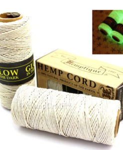 glow in the dark hemp, glow hemp cord