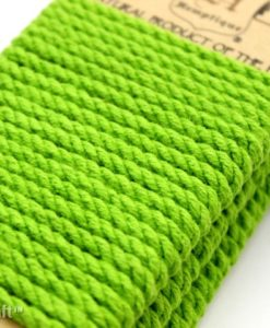 lime green colored hemp rope (1)