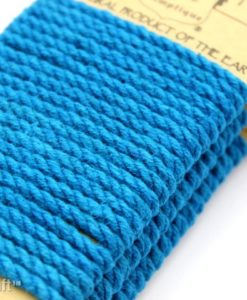 turquoise colored  hemp rope (2)