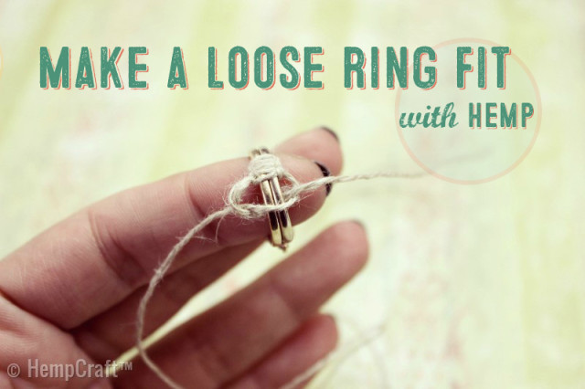 Make a loose ring fit