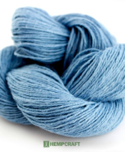 100% Premium blue hemp yarn!