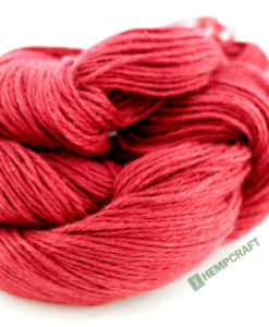 Rasberry Red Hemp Yarn