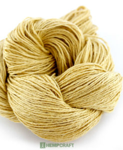 yellow hemp yarn (10)