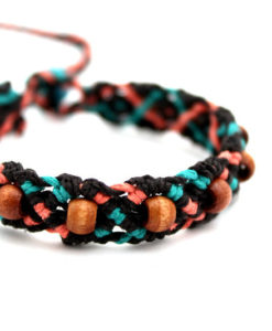 brown hemp bracelet