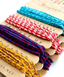 Colorful Hemp Rope HempCraft