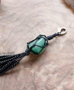gemstone keychain aventurine (2)