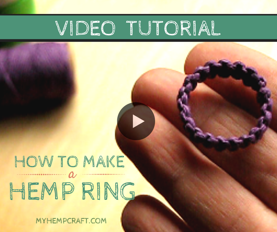How To Make A Two Story Living Room Cozy: How To Make A Macrame Hemp Ring